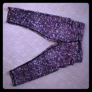 Pants - Galaxy 🌌 space 🪐 workout yoga leggings / capris